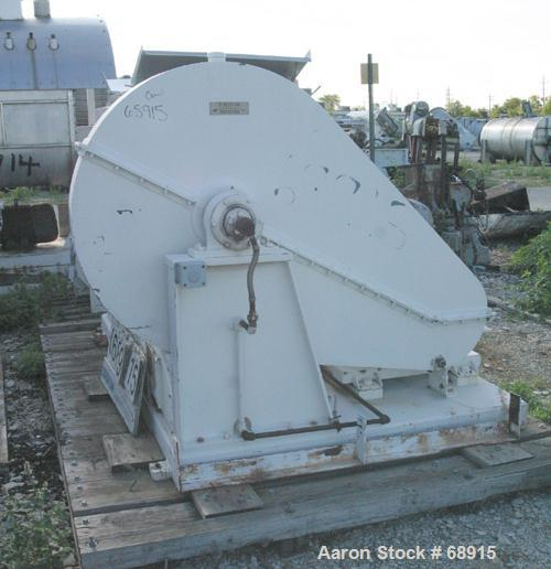 Used: Day double arm mixer, 50 gallon working, 100 total