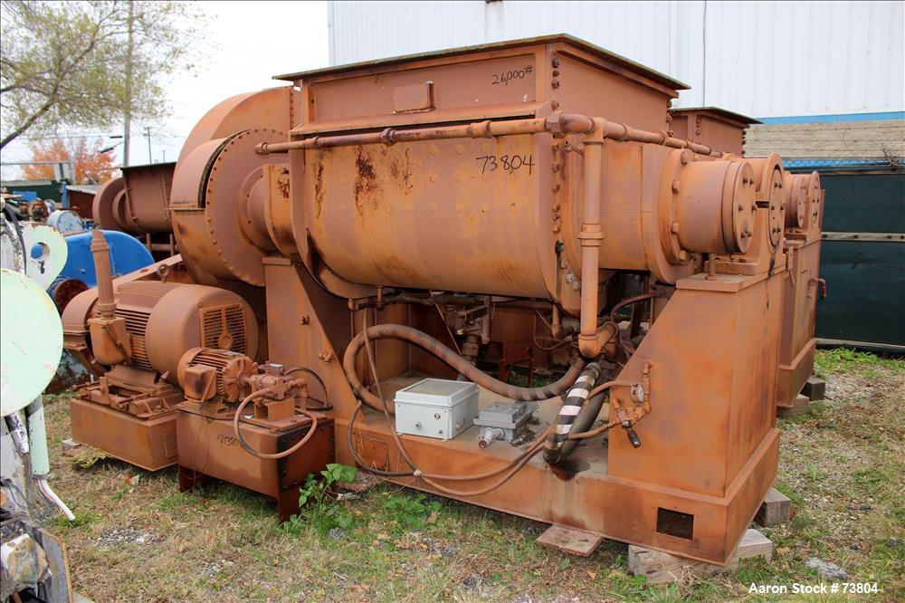 Used- Stainless Steel J.H. Day Double Arm Mixer