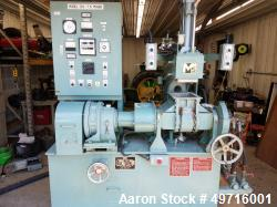 Used- Moriyama Double Arm Dispersion Blade Mixer