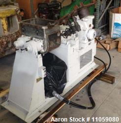 Paul O Abbe Jacketed and Vacuum rated Sigma Blade / Double Arm Mixer. Approximately 6 gallon total ...