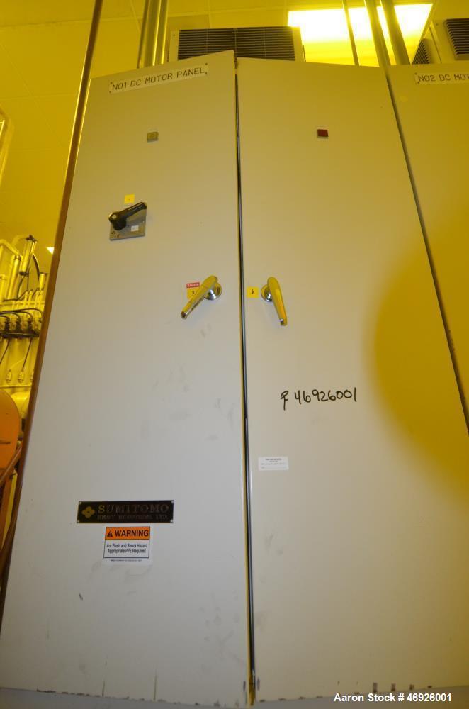 Used- Inoue Moriyama Double Arm Dispersion Mixer, 110 Liter (29 Gallon)