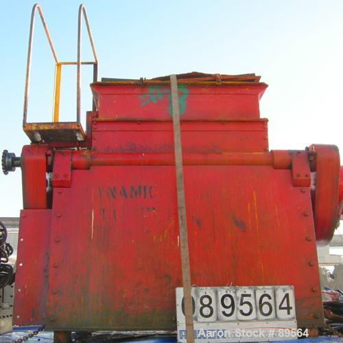 """Used- Double arm mixer, approximate 200 gallon working capacity, carbon steel. Jacketed bowl 49-1/4"""" left to right x 45-1/4""""..."""