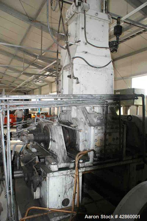 Used-Shaw Rubber Kneader, type K2A Mark 3 Intermix double arm mixer. Sturdigear drive. Includes stamps, control panels, oper...