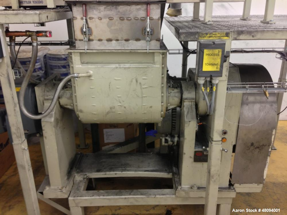 Used- P Pratt S A Double Arm Mixer, Model BA-S. Approximate 20 gallon working capacity, 304 stainless steel. Stainless steel...