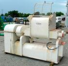 USED: AMK double arm mixer, 52.8 gallon working capacity (200 liter), model IIU, carbon steel. Non-jacketed bowl 27-1/2
