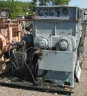 Used: Carbon Steel Baker Perkins double arm mixer, 100 gallon working capacity