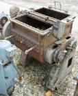 Used- Baker Perkins Double Arm Mixer, Model 15, 100 Gallon Capacity, Carbon Steel.  Jacketed bowl 33