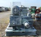 USED: Baker Perkins (Guittard) double arm mixer, carbon steel. 400 gallon working capacity, 528 total. Jacketed bowl 63