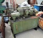 Used- JH Day 50 Gallon Dispersion Blade Mixtruder. Stainless steel, bowl measures 32
