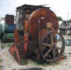 USED: J H Day Cincinnatus double arm mixer, 550 gallon working capacity (868 total), carbon steel. Jacketed bowl 66