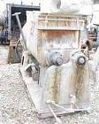 USED: J H Day double arm mixer, carbon steel, 50 gallon working capacity, 80 total. Jacketed bowl 36