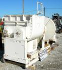 USED: J H Day double arm mixer, 150 gallon working capacity, 304 stainless steel. Carbon steel jacketed bowl 39-5/8