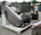 Used- J.H. Day Double Arm Mixer, 150 Gallon Working Capacity, 225 Total, 304 Stainless Steel. Non-jacketed bowl 46