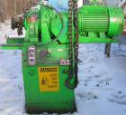 USED: Double arm mixer, approximate 200 gallon working capacity, carbon steel. Jacketed bowl 49-1/4