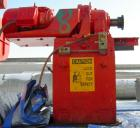 Used- Double arm mixer, approximate 200 gallon working capacity, carbon steel. Jacketed bowl 49-1/4
