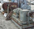 USED: Teledyne double arm mixer, 100 gallon working (150 total), carbon steel, jacketed bowl, 39-1/4