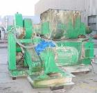 USED:Southern Ohio Fabricators double arm mixer, 100 gallon workingcapacity, carbon steel. Jacketed bowl 40