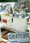 USED- Teledyne Readco Double Arm Lab Mixer, 1.5 Gallon Capacity, 304 Stainless Steel. Jacketed bowl 9-1/16