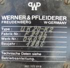 Used-  Werner & Pfleiderer Lab Size Double Arm Mixer, Model UK20-K2, 5.3 Gallon (20 liter) Working Capacity, 304 Stainless S...
