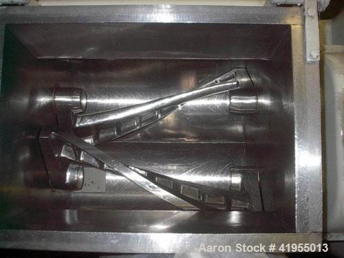 Used-Werner Pfleiderer Model Bake Cake Sigma Blade Mixer