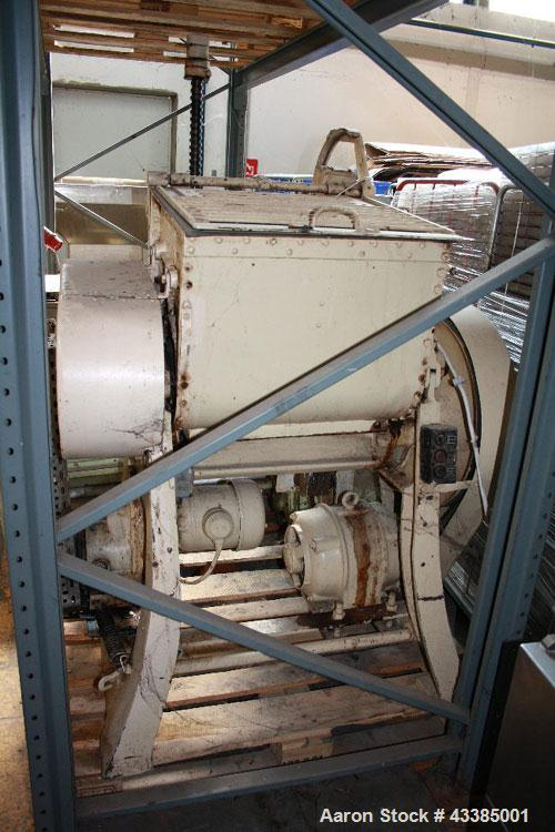 Used-Werner Pfleiderer UK 5 Double-Z-Kneader.  Maximum capacity 33.02 gallons (125 liters), working capacity 21.1 gallons (8...