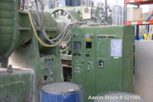 USED: Werner Pfleiderer double arm mixer, type UK19. Material of construction is stainless steel on product contact parts. T...