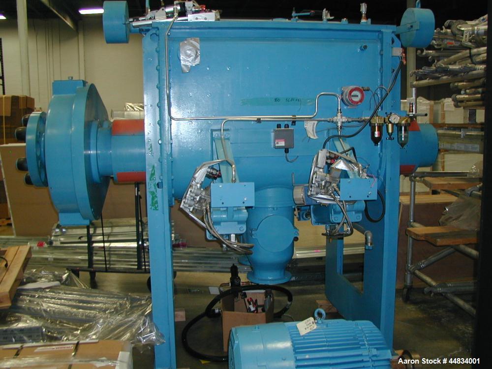 Unused- 900 Liter (247 Gallon) Werner & Pfleiderer Double Arm Sigma Blade Mixer
