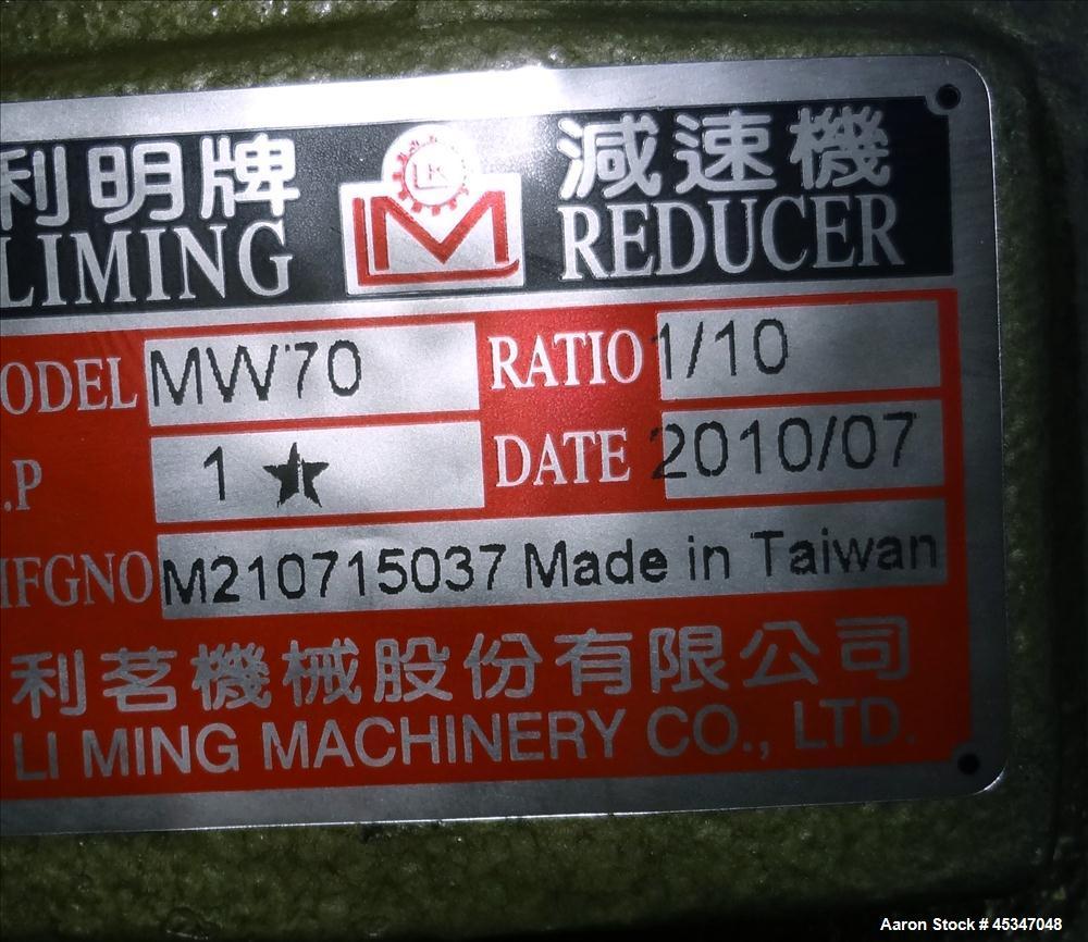 Used-Yong Sheuan V-Blender, 2 cuft. SS