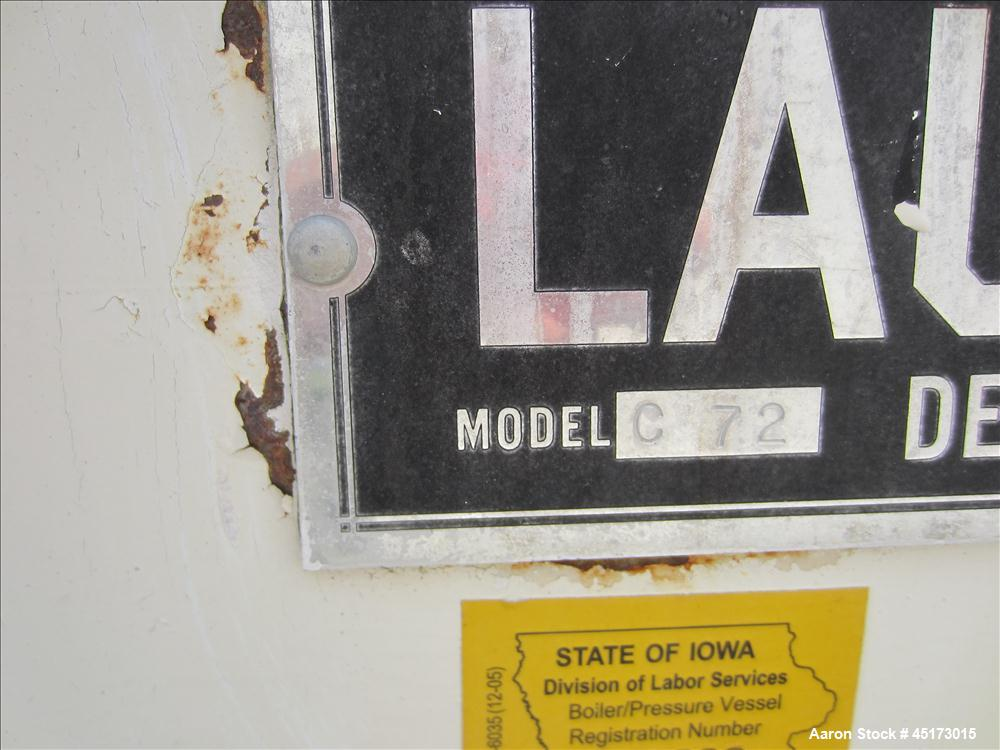 Used- Stainless Steel Lauhoff Corp Batch Cooker, Model C 72