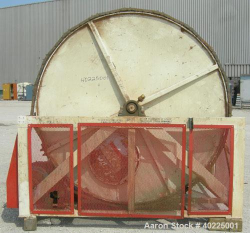 USED: Continental Products Rollo-Mixer, model 74-229, carbon steel. Approximate 88'' diameter x 106'' long horizontal mixing...