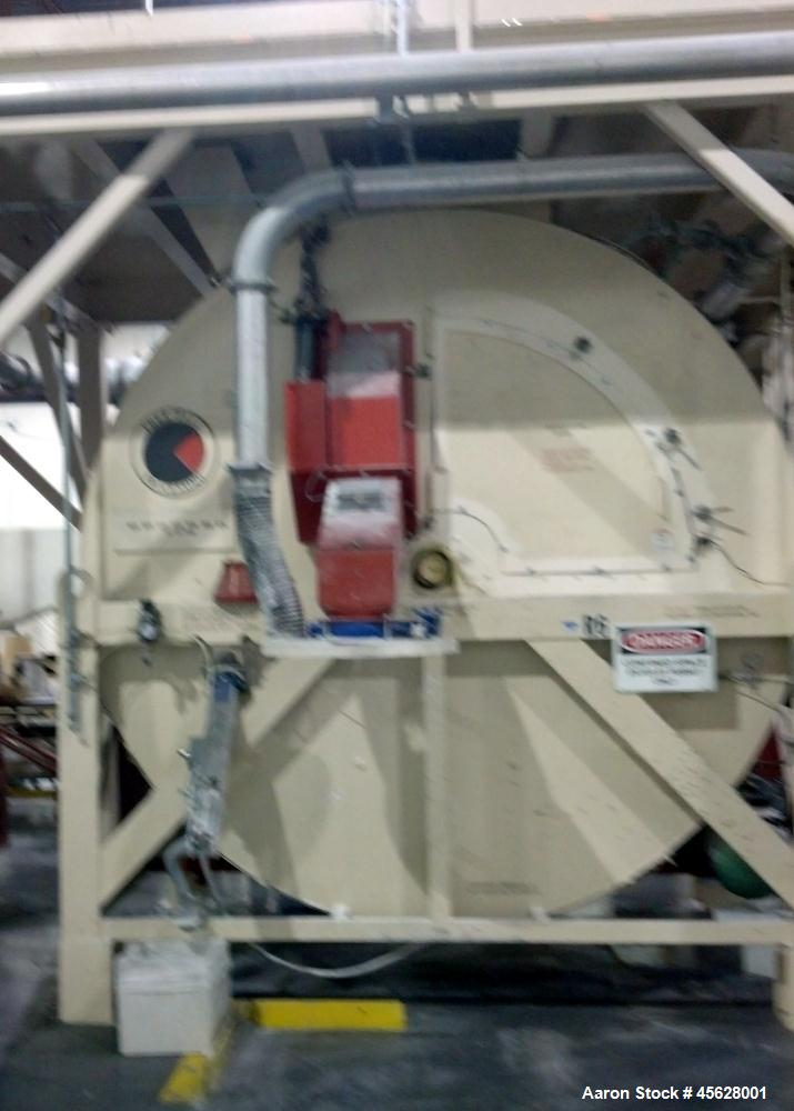 "Used-Continental ""Rollo-Mixer"" MK VI, Model 86-167/60.  167 Cubic foot capacity.  Approximately 10' wide x 8' deep x 10' tal..."