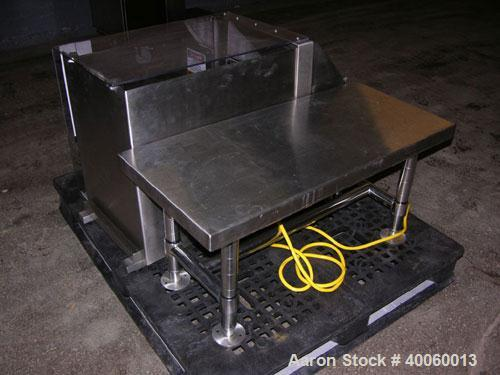Used- Stainless Steel Gemco Slant Cone Blender, (.017) Cubic Feet (.5 liter), Mo