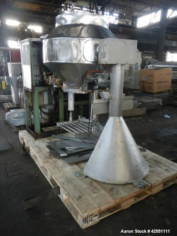 Used- Stainless Steel Gemco blender, 20 cubic ft