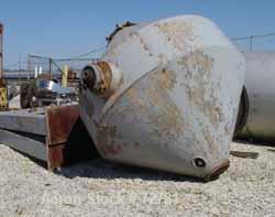 """Used: Carbon Steel Gemco Double Cone """"Solids"""" Mixer, Model GSG, 225 Cubic Feet"""