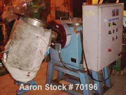 """Used- Lightnin High Speed Batch Mixer, 3 Cubic Feet, Stainless Steel. Includes (1) 17"""" diameter x 24"""" straight side x 8"""" asy..."""