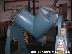 Used- Patterson Kelly Co. V-Blender/Twin Shell Dry Blender. Working capacity 3 cubic ft. (85 liter). Material of constructio...