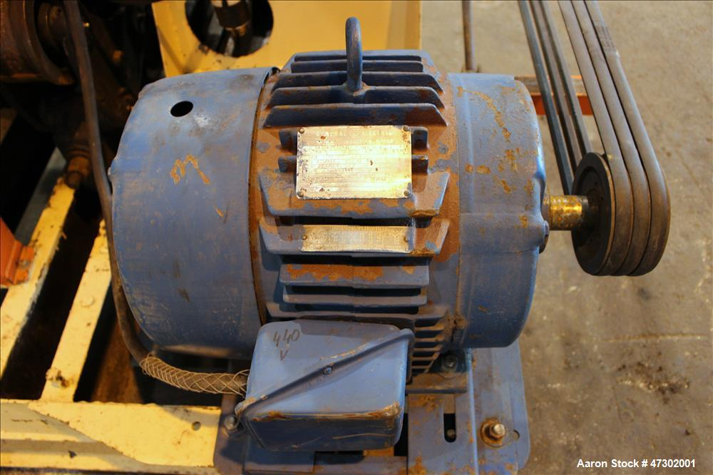 Used- Munson Rotary Batch Mixer, Carbon Steel.
