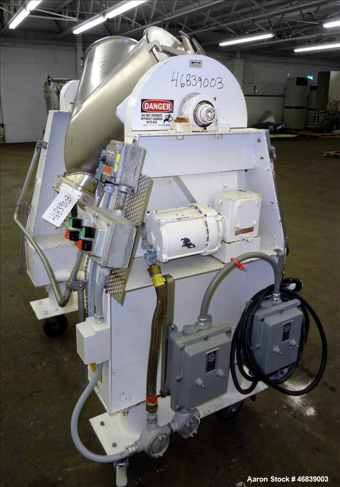 Used- Patterson-Kelley Twin Shell Blender