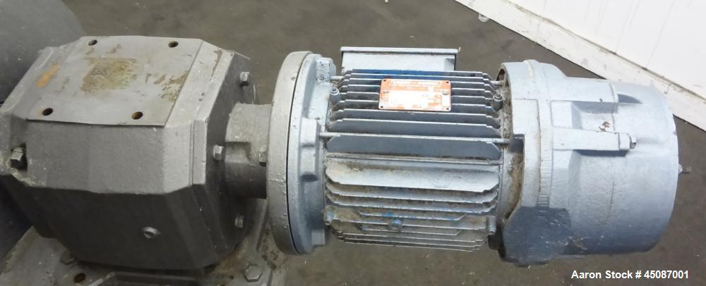 Used- Stainless Steel Patterson-Kelley Twin Shell Dry Blender, 20 Cubic Feet
