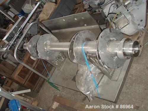 Used- Stainless Steel Patterson-Kelley 40 Cubic Foot Liquid Solids Intensifier Bar