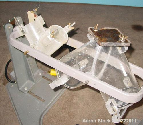 Used- Patterson Kelly Lab Twin Shell  Blender, model YOKE. (1) 2 quart capacity, and (1) 1.1 quart capacity plexiglass shell...