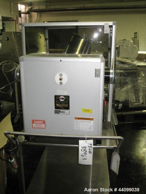 Used- Patterson-Kelley Twin Shell Blender, 16 Quart, Stainless Steel. Rated 125/140 pounds a cubic foot maximum material den...