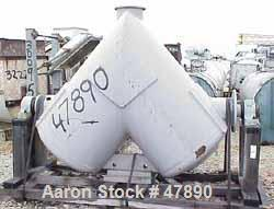 Used- Carbon Steel Patterson-Kelley 40 Cubic Foot Twin Shell Blender