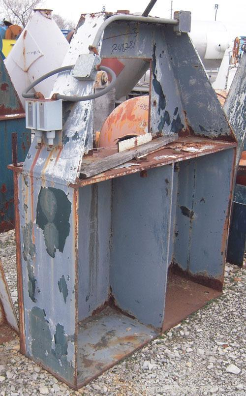 Used- Patterson Kelley Twin Shell Blender, 60 cubic foot capacity, carbon steel. Maximum material density 50 pounds per cubi...