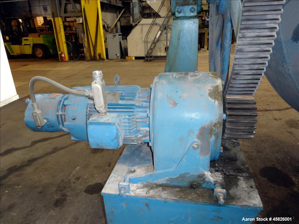 Used- Patterson Industries Double Cone Blender