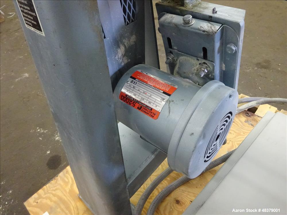 Used- Paul O. Abbe Rota-Cone Blender, Model RCB-18, 304 Stainless Steel.
