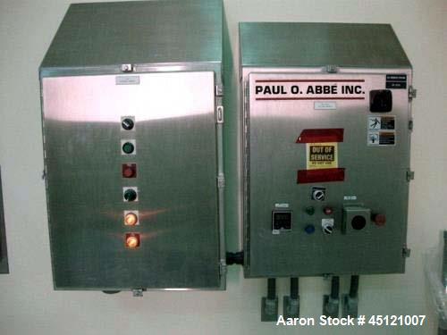 Used- Paul O. Abbe Stainless Steel Rota-Cone Blender