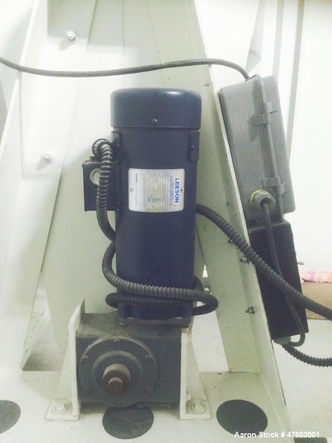 "Used- Sepor Rota-Cone Blender. Max operating capacity is 5.0 cubic feet (total volume 7.7 cubic feet). 30"" diameter, 316 sta..."
