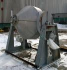 USED: Gemco double cone blender, model Double Cone Blender-Solids. Stainless steel, 40 cubic feet, 60