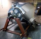 Used- Stainless Steel Gemco slant cone blender body, 75 cubic ft